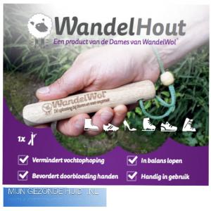 Wandelhout, mijngezondehuid.nl, wandelwol