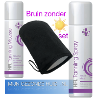 bruinzonderzon, tanning, set, hfl, mijngezondehuid.nl