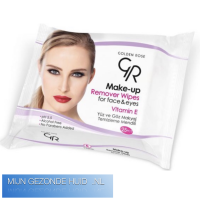GoldenRose make up wipes, mijngezondehuid.nl